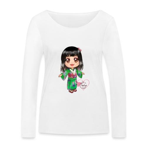 Rosalys crossing - T-shirt manches longues bio Stanley & Stella Femme
