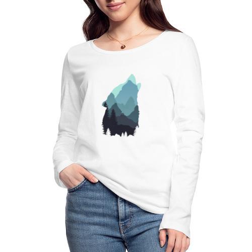 Wolf - Women's Organic Longsleeve Shirt by Stanley & Stella