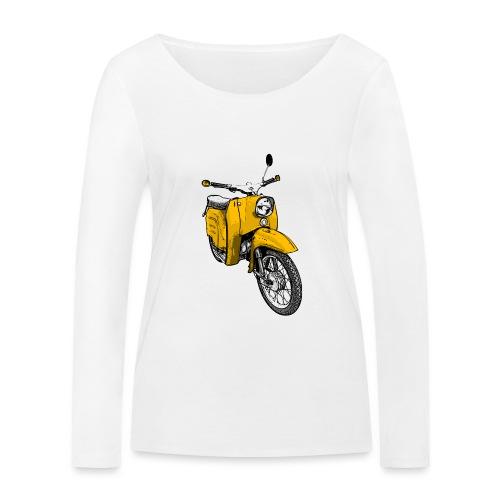 schwalbe gelb - Frauen Bio-Langarmshirt von Stanley & Stella