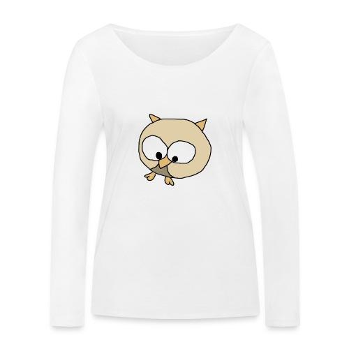 Uggla - Ekologisk långärmad T-shirt dam från Stanley & Stella