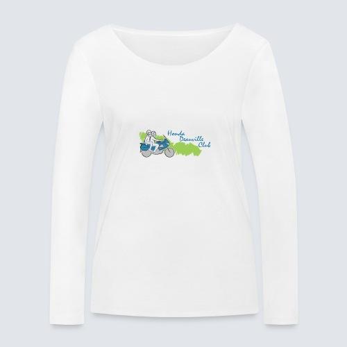 HDC logo - Vrouwen bio shirt met lange mouwen van Stanley & Stella