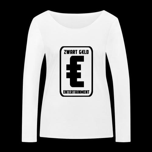 ZwartGeld Logo Sweater - Vrouwen bio shirt met lange mouwen van Stanley & Stella