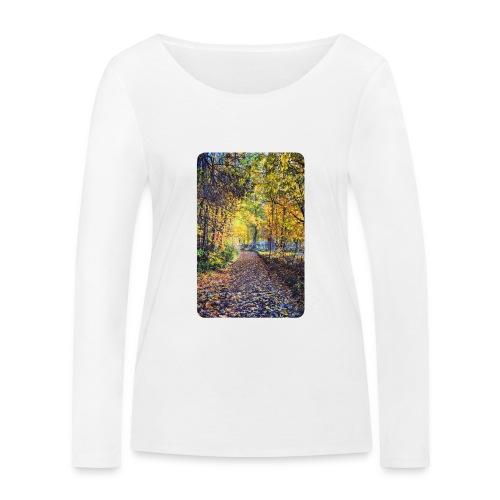 Autumn - Ekologiczna koszulka damska z długim rękawem Stanley & Stella