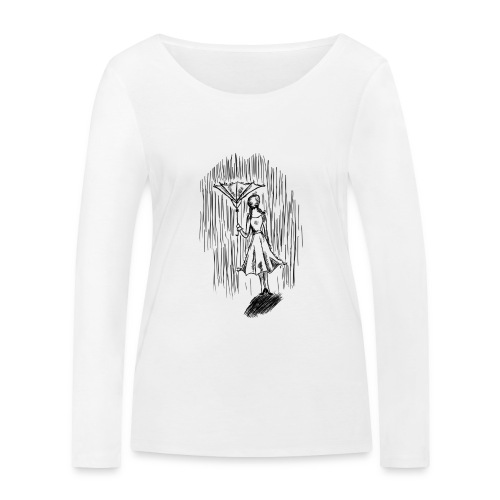 Umbrella - Women's Organic Longsleeve Shirt by Stanley & Stella