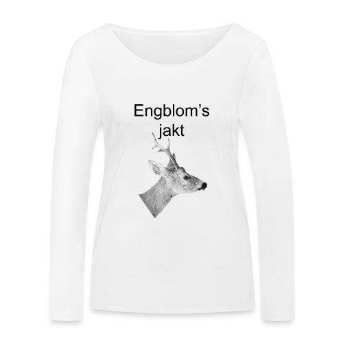 Officiell logo by Engbloms jakt - Ekologisk långärmad T-shirt dam från Stanley & Stella