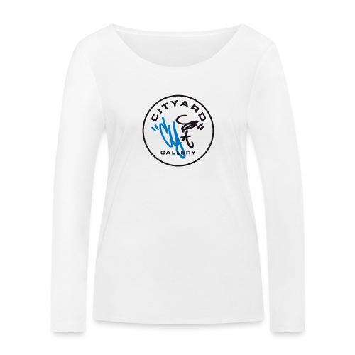 cityard org logo - Økologisk Stanley & Stella langærmet T-shirt til damer