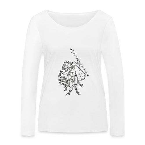 Odin, chevauchant Sleipnir - T-shirt manches longues bio Stanley & Stella Femme