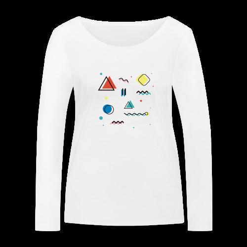 Abstract geometry - Women's Organic Longsleeve Shirt by Stanley & Stella