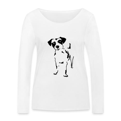 Jack Russell Terrier - Frauen Bio-Langarmshirt von Stanley & Stella
