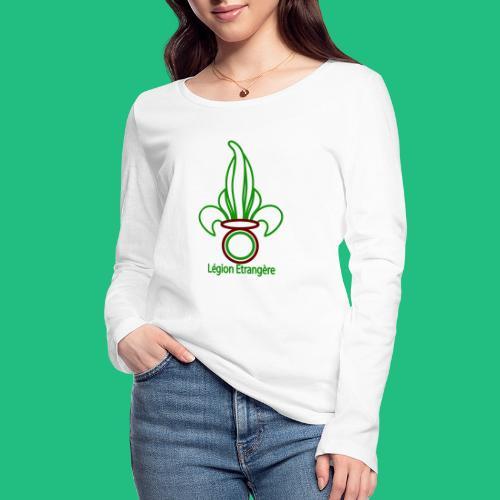 GRENADE LEGION - T-shirt manches longues bio Stanley & Stella Femme