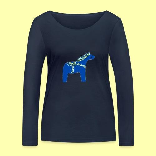 Dala by Pinni Art® blue - Frauen Bio-Langarmshirt von Stanley & Stella