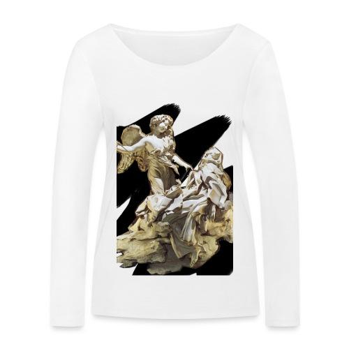 Éxtasis de Santa teresa - Camiseta de manga larga ecológica mujer de Stanley & Stella