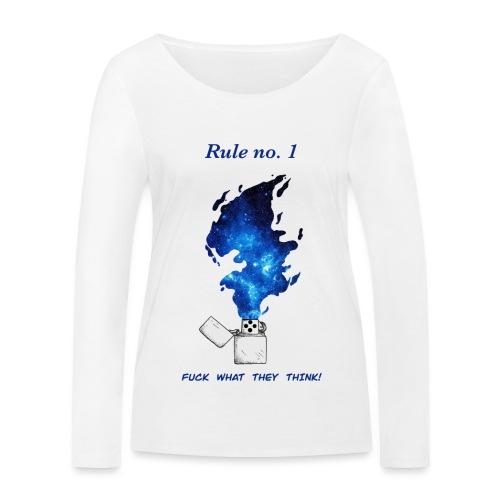 Rule no. 1 - Økologisk Stanley & Stella langærmet T-shirt til damer