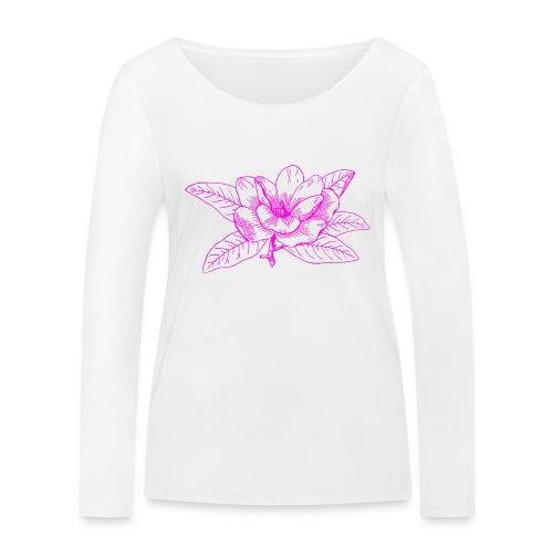 Camisetas y accesorios de flor color rosada - Camiseta de manga larga ecológica mujer de Stanley & Stella