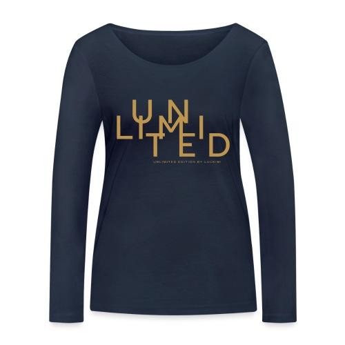 Unlimited gold - Women's Organic Longsleeve Shirt by Stanley & Stella
