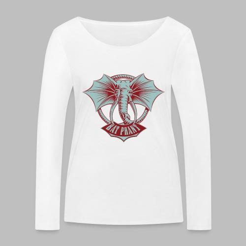 BatPhant - Frauen Bio-Langarmshirt von Stanley & Stella