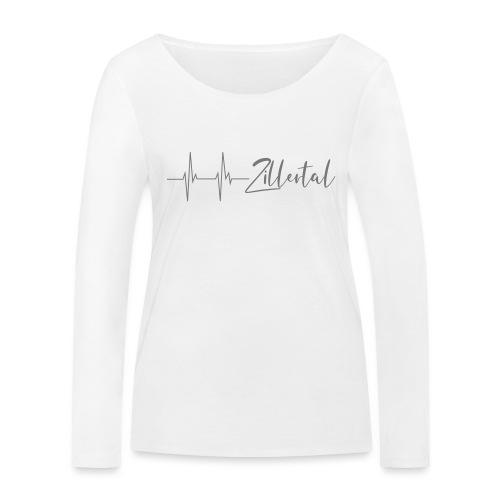 Herzschlag Zillertal - Frauen Bio-Langarmshirt von Stanley & Stella