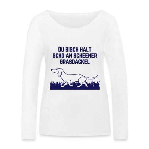Grasdackel - Frauen Bio-Langarmshirt von Stanley & Stella
