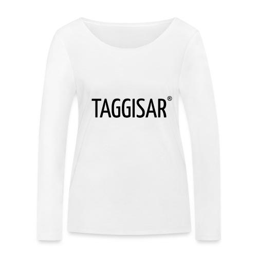 Taggisar Logo Black - Ekologisk långärmad T-shirt dam från Stanley & Stella