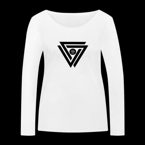 07logo complet black - T-shirt manches longues bio Stanley & Stella Femme
