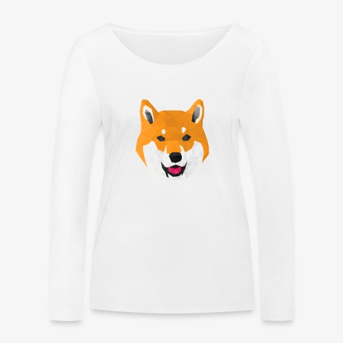 Shiba Dog - T-shirt manches longues bio Stanley & Stella Femme