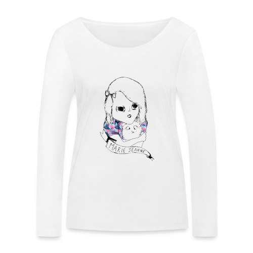 Marie Jeanne - T-shirt manches longues bio Stanley & Stella Femme
