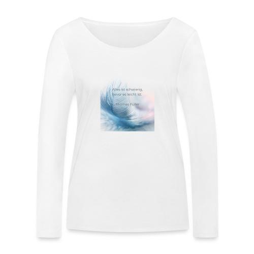Leicht - Frauen Bio-Langarmshirt von Stanley & Stella