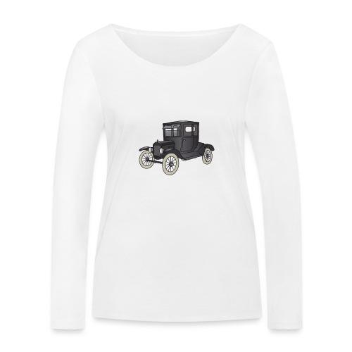Modell T Oldtimer c - Frauen Bio-Langarmshirt von Stanley & Stella