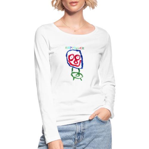 happiwær2 - Økologisk Stanley & Stella langærmet T-shirt til damer