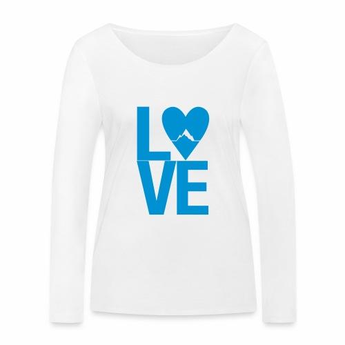Mountain Love - Frauen Bio-Langarmshirt von Stanley & Stella