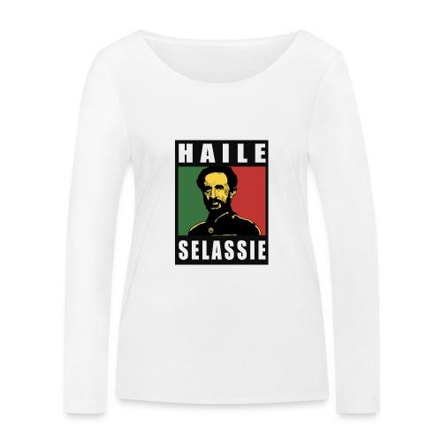 Haile Selassie - Rastafari - Reggae - Rasta - Frauen Bio-Langarmshirt von Stanley & Stella