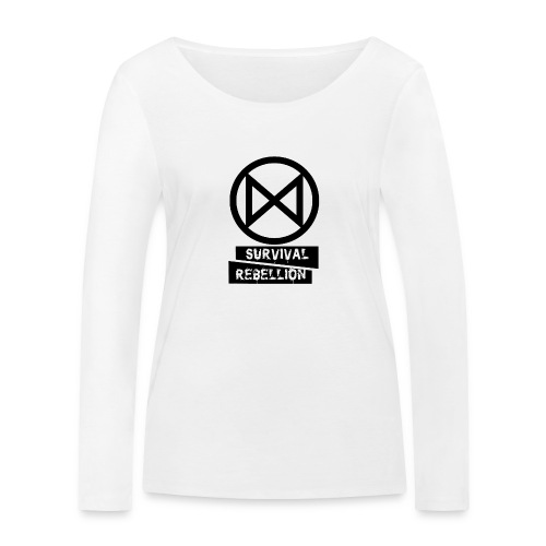 Extinction Rebellion - Maglietta a manica lunga ecologica da donna di Stanley & Stella