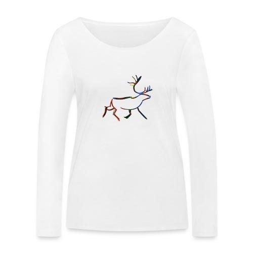 Rein - Økologisk langermet T-skjorte for kvinner fra Stanley & Stella