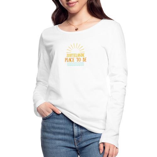 Zoutelande - Place To Be - Frauen Bio-Langarmshirt von Stanley & Stella
