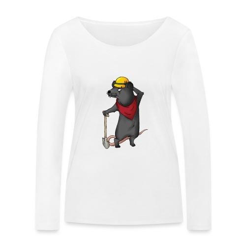 Arbeiter Ratte - Frauen Bio-Langarmshirt von Stanley & Stella