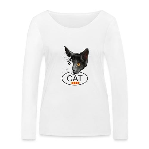 gat catala - Camiseta de manga larga ecológica mujer de Stanley & Stella