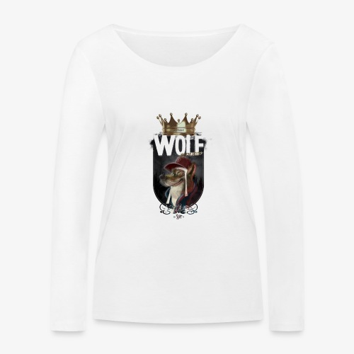 wolf - Camiseta de manga larga ecológica mujer de Stanley & Stella