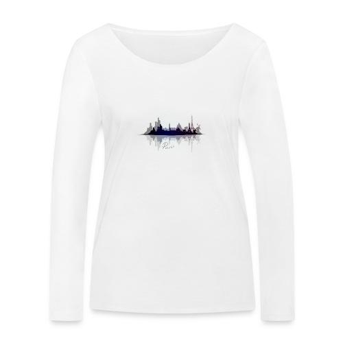 Paris city of light - T-shirt manches longues bio Stanley & Stella Femme