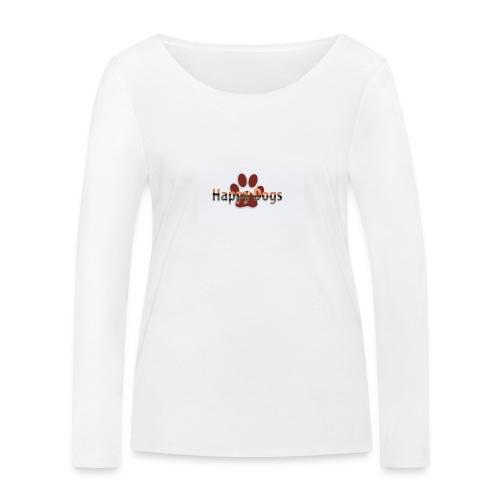 Happy dogs - Frauen Bio-Langarmshirt von Stanley & Stella