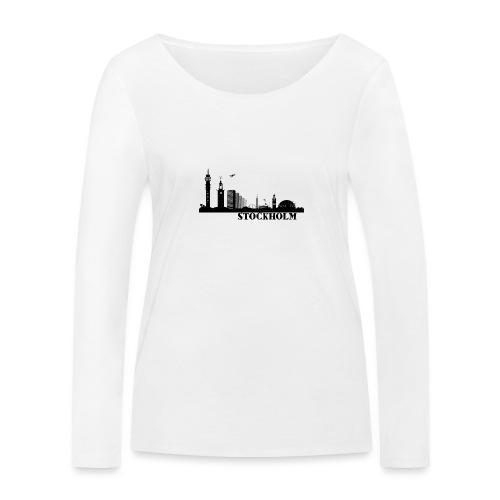 Stockholm - Ekologisk långärmad T-shirt dam från Stanley & Stella