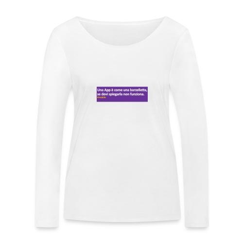 barzelletta - Maglietta a manica lunga ecologica da donna di Stanley & Stella