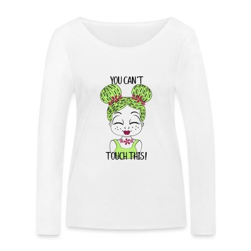 cactus meisje, met grappige tekst - Vrouwen bio shirt met lange mouwen van Stanley & Stella