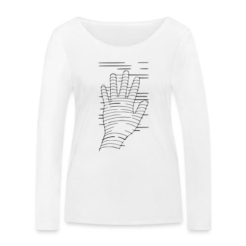 Eigene Hand - Frauen Bio-Langarmshirt von Stanley & Stella