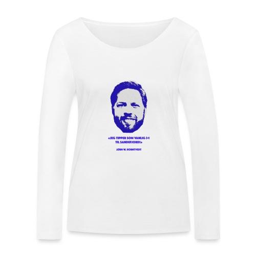 Horntvedt - Økologisk langermet T-skjorte for kvinner fra Stanley & Stella