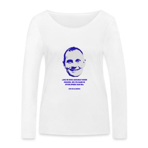 Skalleberg - Økologisk langermet T-skjorte for kvinner fra Stanley & Stella