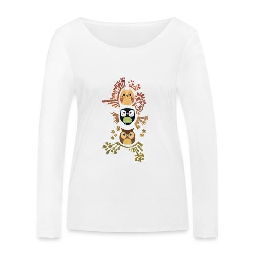 Good Wise Owls - Frauen Bio-Langarmshirt von Stanley & Stella