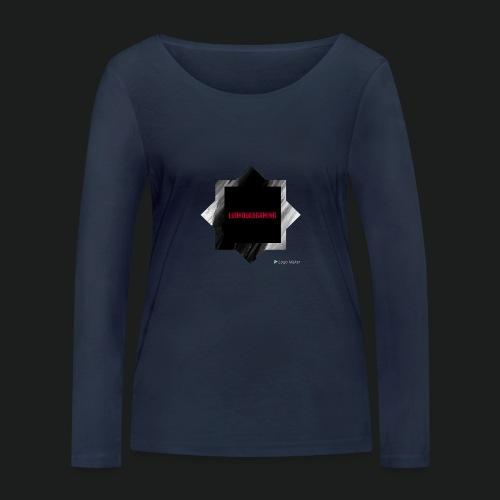 New logo t shirt - Vrouwen bio shirt met lange mouwen van Stanley & Stella
