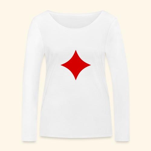 Poker - Frauen Bio-Langarmshirt von Stanley & Stella