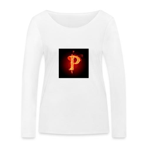 Power player nuovo logo - Maglietta a manica lunga ecologica da donna di Stanley & Stella