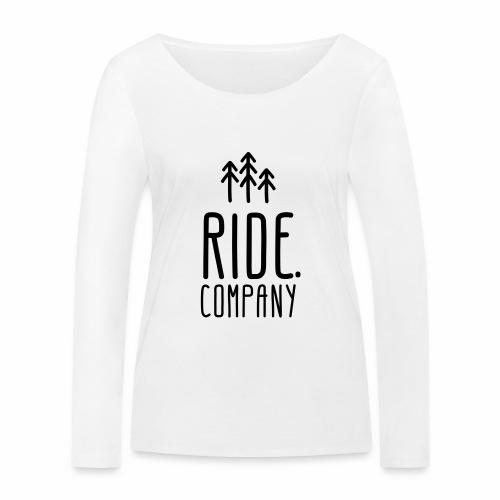 RIDE.company Logo - Frauen Bio-Langarmshirt von Stanley & Stella